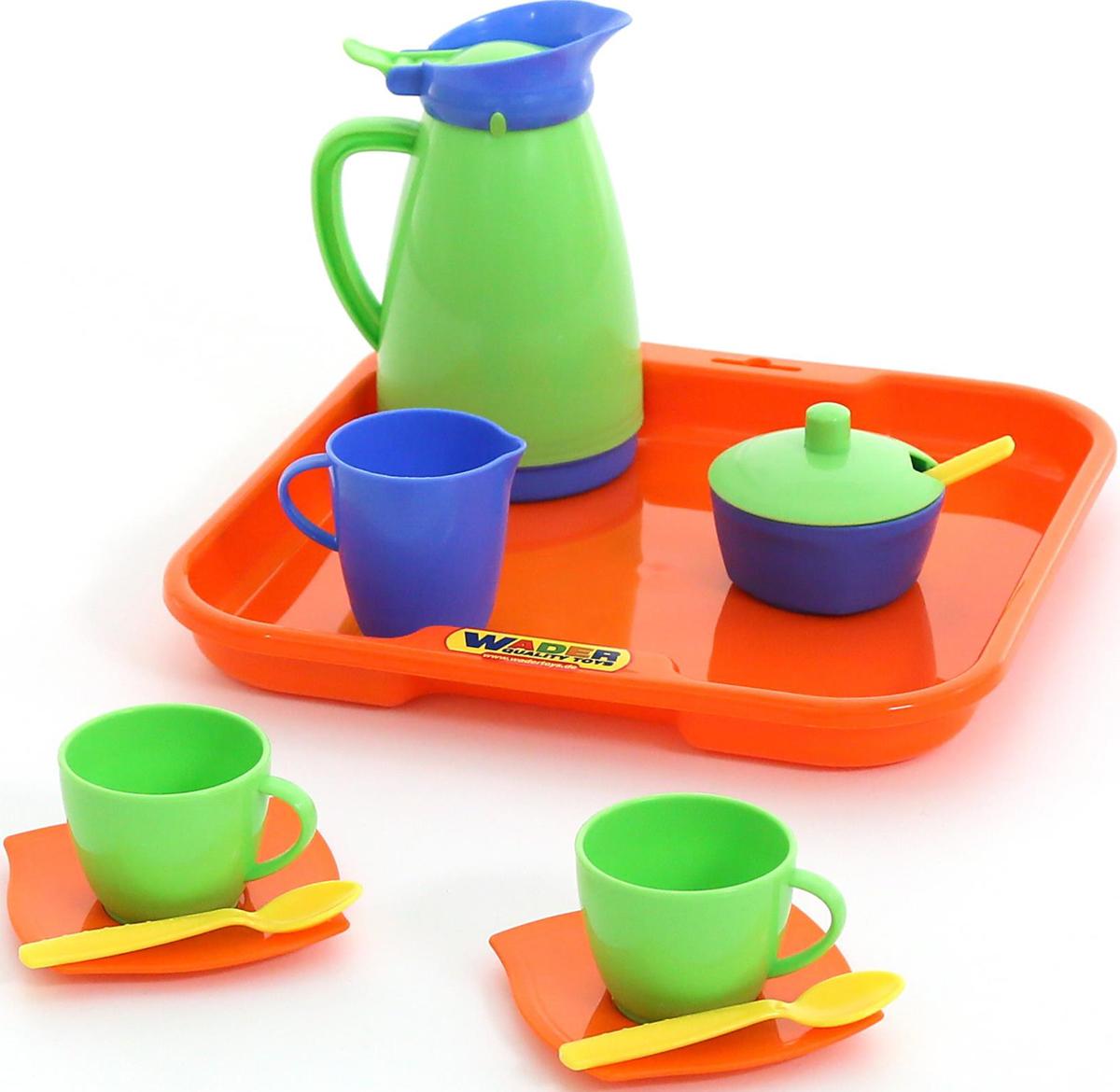 Полесье Набор игрушечной посуды Алиса 40572 полесье набор игрушечной посуды анюта 3865