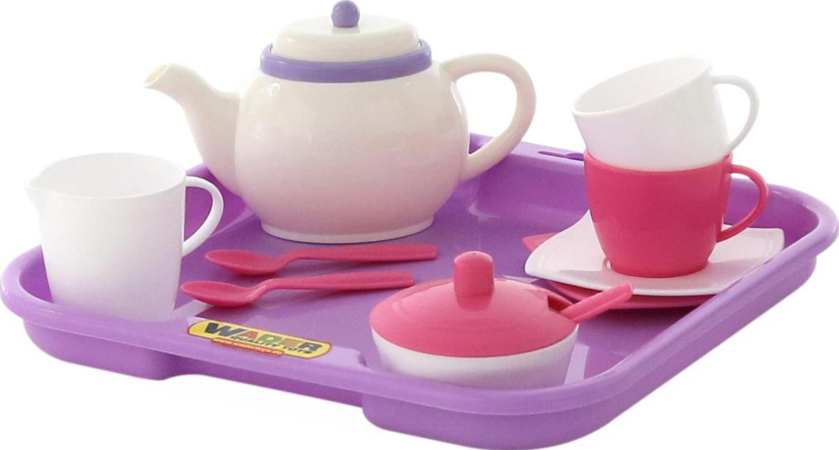 Полесье Набор игрушечной посуды Алиса 58959 полесье набор для песочницы 406