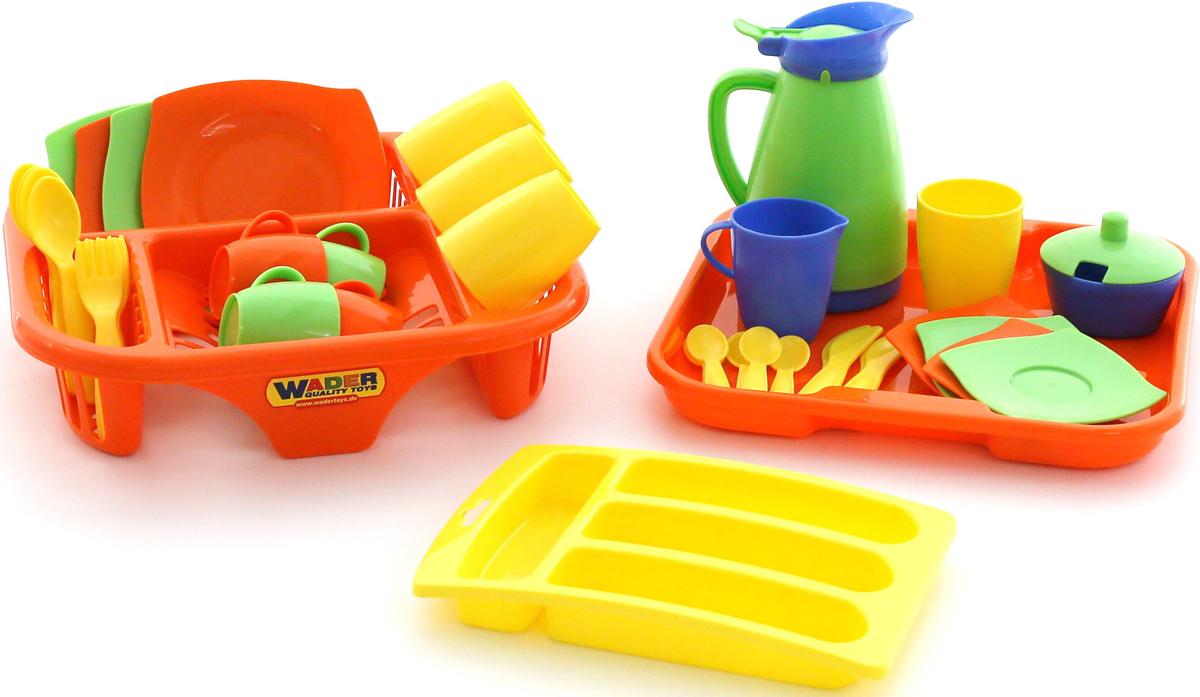 Полесье Набор игрушечной посуды Алиса 40718 полесье набор игрушечной посуды анюта 3865
