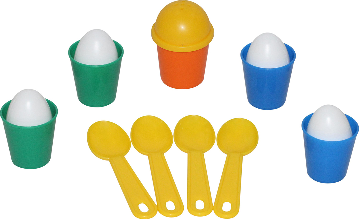 Полесье Набор игрушечной посуды Для завтрака полесье набор для песочницы 406