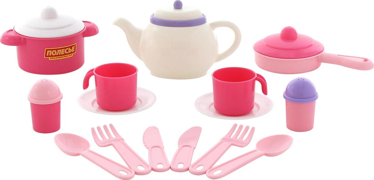 Полесье Набор игрушечной посуды Настенька 58997 полесье набор для песочницы 469