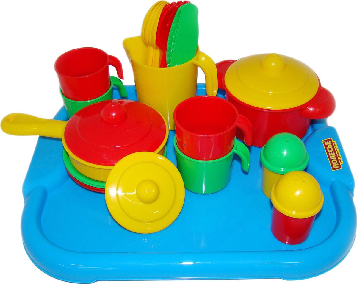 Полесье Набор игрушечной посуды Настенька 3964 полесье набор для песочницы 469