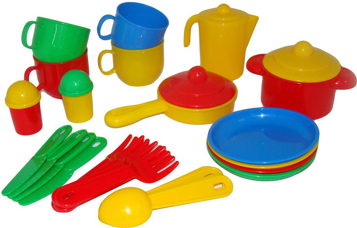 Полесье Набор игрушечной посуды Хозяюшка 4008 полесье набор для песочницы 469
