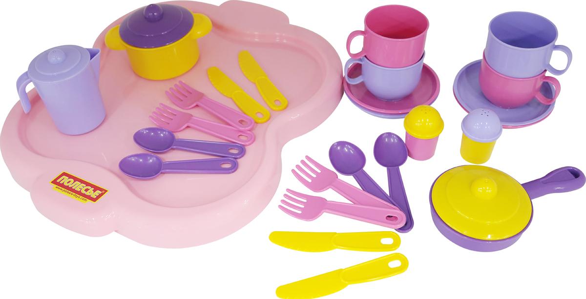 Полесье Набор игрушечной посуды Янина 4060 полесье набор для песочницы 469