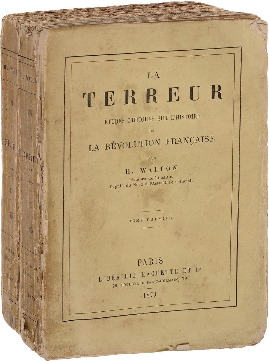 La Terreur (комплект из 2 книг) любовный быт пушкинской эпохи комплект из 2 книг