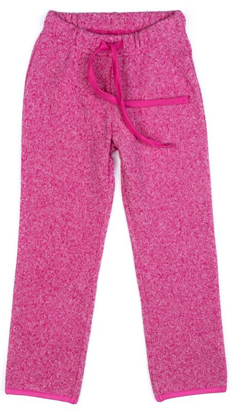Брюки спортивные для девочки PlayToday, цвет: розовый. 379008. Размер 110379008Спортивные брюки PlayToday выполнены из полиэстера. Пояс модели на широкой удобной резинке, не сдавливающей живот ребенка, дополнен регулируемым шнуром-кулиской.