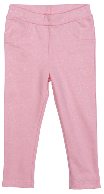 Брюки для девочки PlayToday, цвет: светло-розовый. 378060. Размер 92378060Трикотажные брюки PlayToday всегда актуальны в повседневном гардеробе ребенка. Модель на широкой резинке, изнутри регулируется по ширине талии за счет пуговицы. Брюки дополнены задними накладными карманами и имитацией передних.