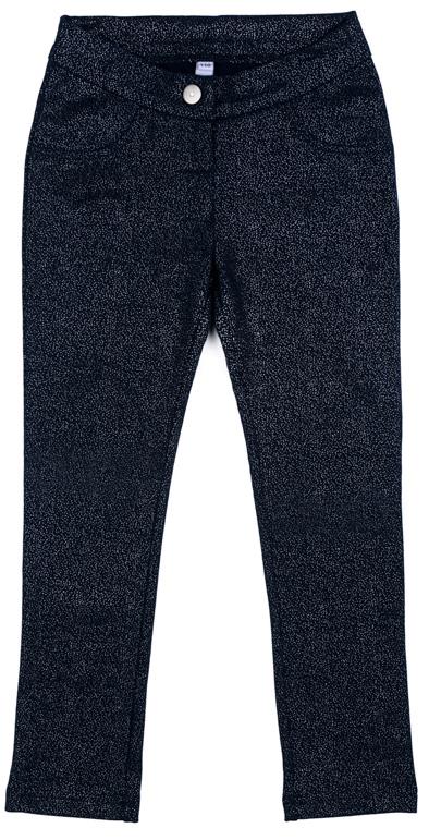 Брюки для девочки PlayToday, цвет: темно-синий. 372113. Размер 98 брюки для девочки playtoday 172155 синий р 98