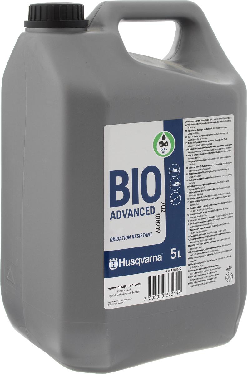 Масло для смазки цепи Husqvarna Bio Advanced, 5 л5888183-10Масло Husqvarna Bio Advanced предназначено для смазки цепей пил. Оно не теряет своих свойств после длительного хранения. Служит для снижения трения в месте соприкосновения цепи с другими деталями. Увеличивает срок их службы, значительно снижая износ поверхностей, гарантирует стабильную работу. Данное масло экологично, так как при отработке полностью разлагается и имеет низкий уровень содержания серы.Товар сертифицирован.