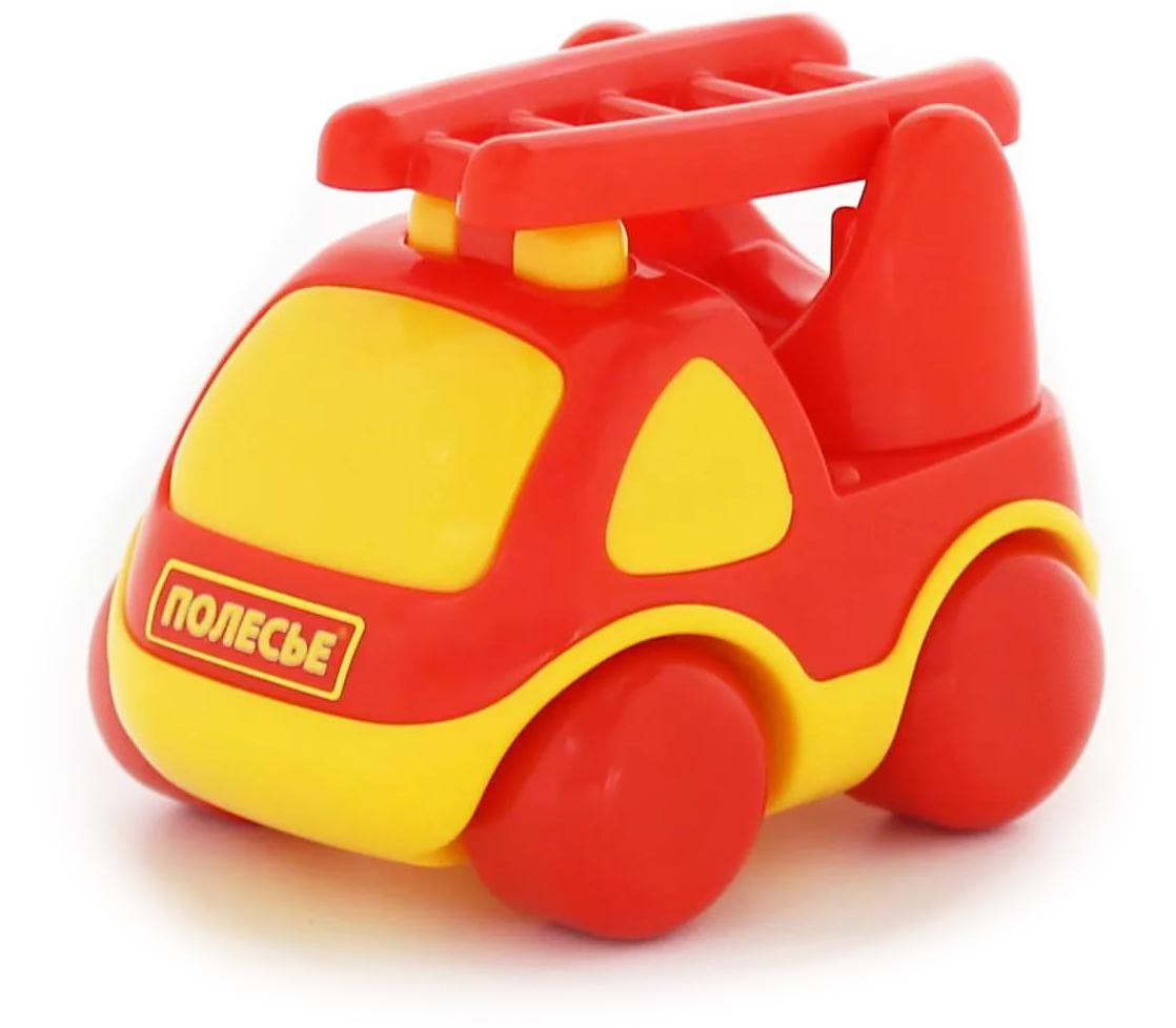 Полесье Пожарный автомобиль Карат автомобиль пожарный полесье volvo в сеточке 8787