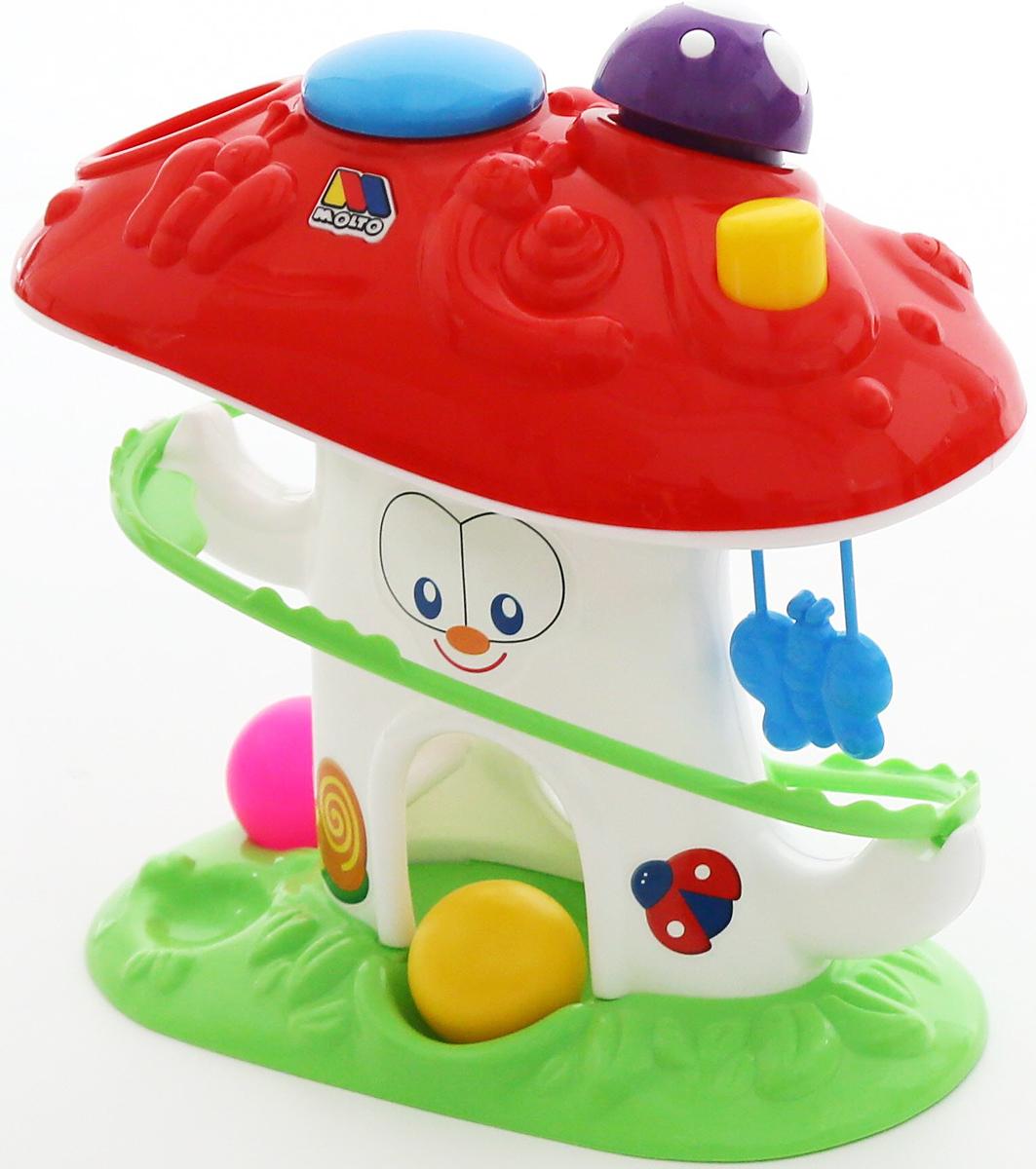 Полесье Развивающая игрушка Забавный гриб полесье горка для шариков 1
