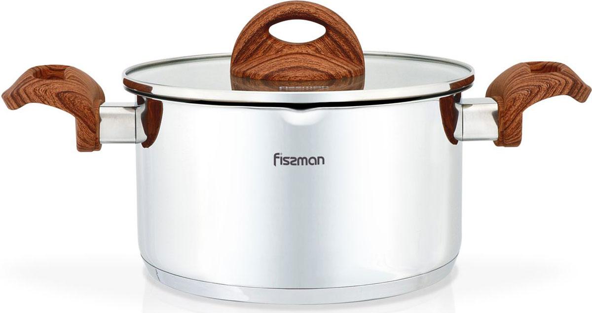Кастрюля Fissman Altea, с крышкой, 2,5 лSS-5167.18Перед первым использованием посуду следует помыть и протереть сухой тряпкой.