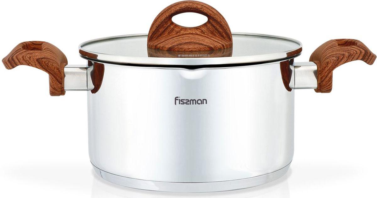 Кастрюля Fissman Altea, с крышкой, 3,1 лSS-5168.20Перед первым использованием посуду следует помыть и протереть сухой тряпкой.