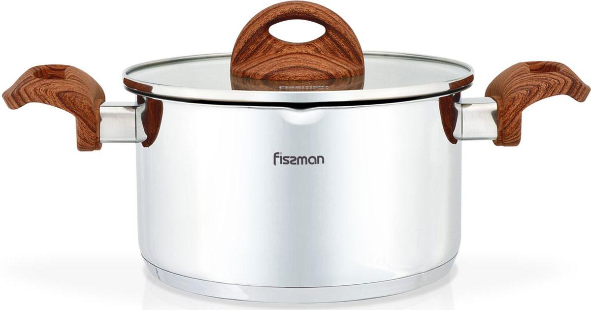 Кастрюля Fissman Altea, с крышкой, 6,1 лSS-5169.24Перед первым использованием посуду следует помыть и протереть сухой тряпкой.