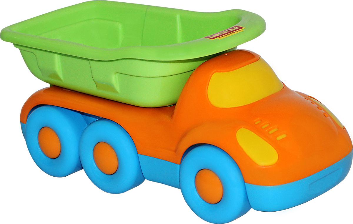 Полесье Самосвал трехосный Дружок игрушка полесье автомобиль тёма самосвал