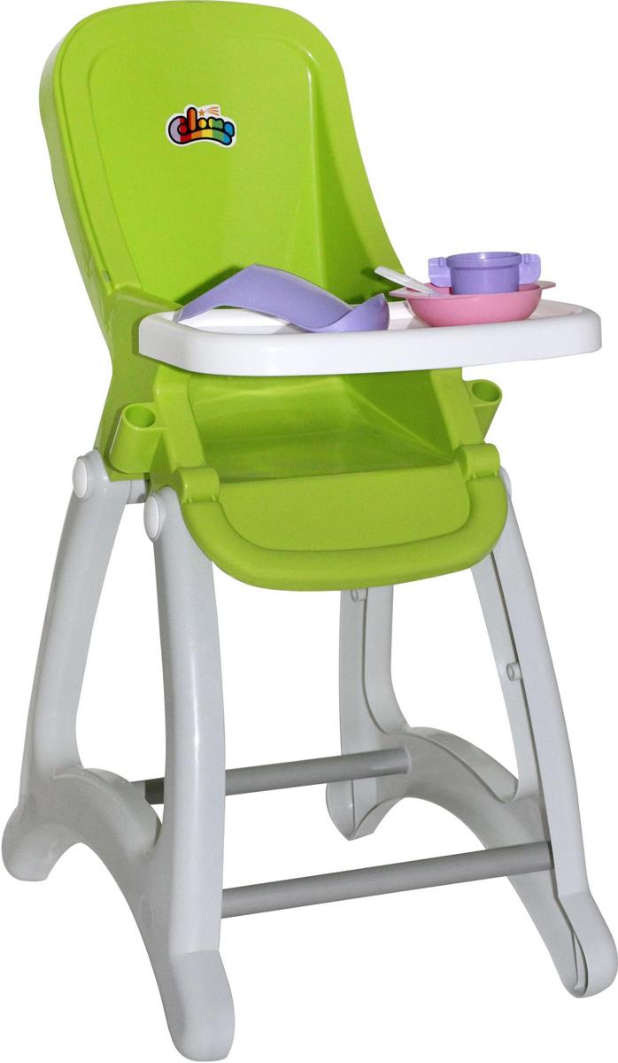Полесье Стульчик для кукол Беби цвет зеленый полесье беби трайк