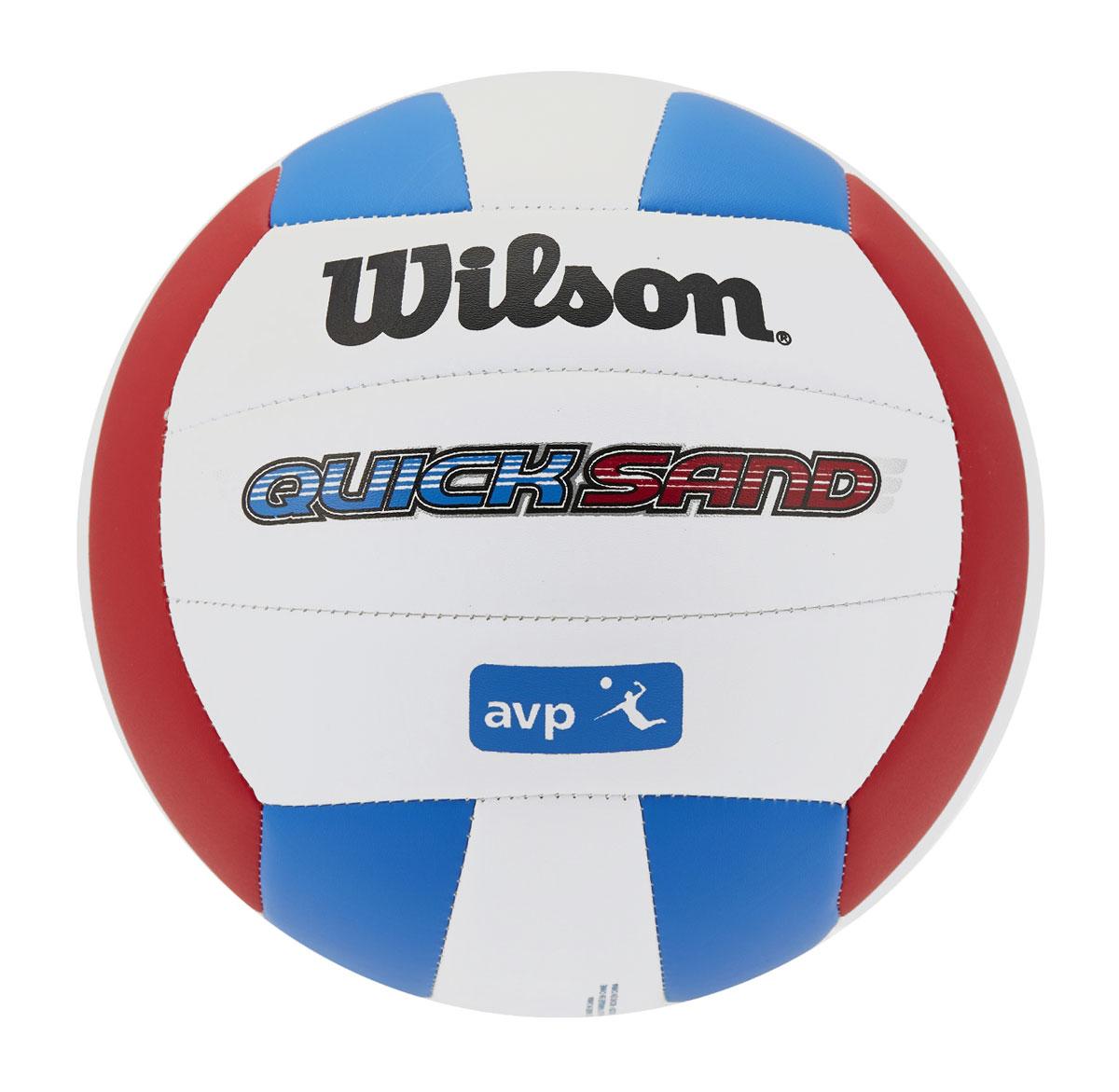 Мяч волейбольный Wilson Avp Hawaii, цвет: белый, синий, красный, диаметр 20 смWTH4893XBВолейбольный мяч Wilson Avp Hawaii предназначен для комфортных тренировок и игр команд любого уровня. Покрышка мяча выполнена из высокотехнологичного композитного материала на основе микрофибры, с применением технологии Soft Touch, которая напоминает натуральную кожу и обеспечивает правильный отскок.Мяч состоит из 18 панелей и бутиловой камеры, также армирован подкладочным слоем, выполненным из ткани.Мяч отлично подойдет для тренировок и соревнований команд высокого уровня.УВАЖАЕМЫЕ КЛИЕНТЫ!Обращаем ваше внимание на тот факт, что мяч поставляется в сдутом виде. Насос в комплект не входит.