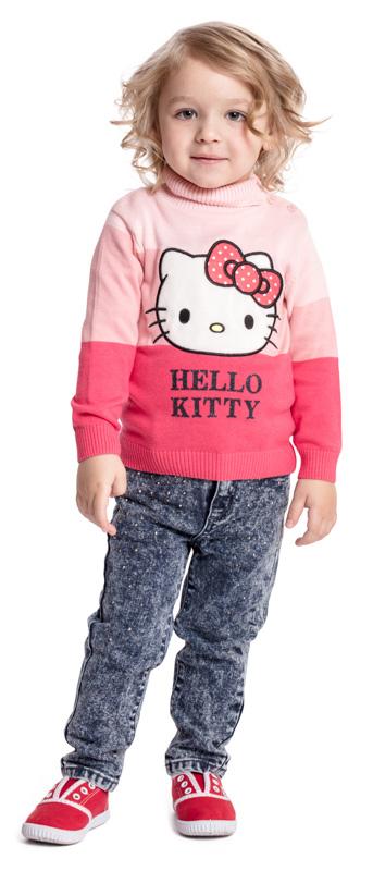 Свитер для девочки PlayToday, цвет: розовый. 578001. Размер 92578001Яркий свитер PlayToday - отличное дополнение к повседневному гардеробу ребенка. Свитер декорирован яркой аппликацией. Манжеты, низ и горловина изделия на мягких трикотажных резинках. По плечу и на горловине модель дополнена застежкой на пуговицы для удобства надевания.