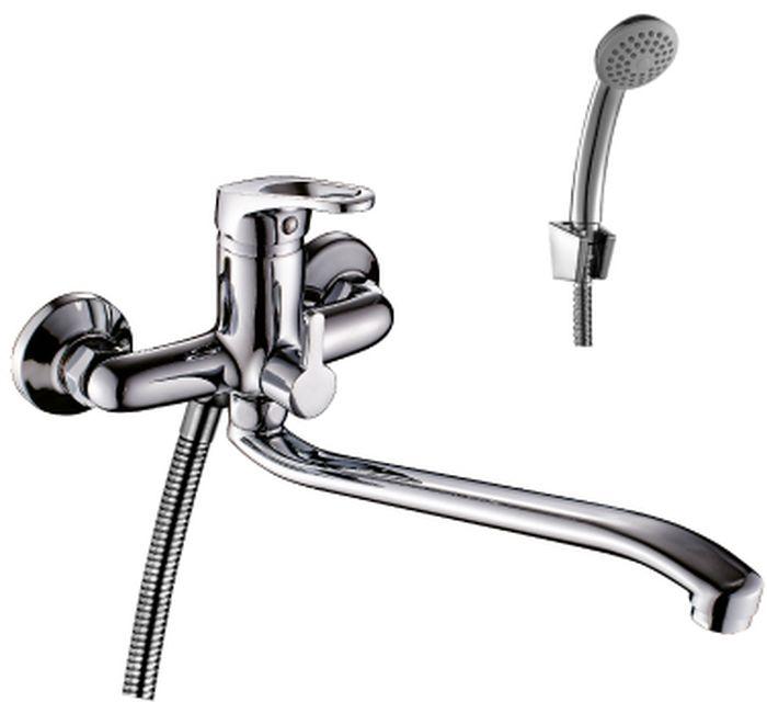 Смеситель Rossinka, для ванны, с S-образным изливом. B35-34B35-34Смеситель с S-образным поворотным изливом Rossinka изготовлен высококачественного металла. Комплектация:Пластиковый аэратор с функцией легкой очистки; Керамический картридж 35 мм; Переключатель с керамическими пластинами; Аксессуары: (шланг 1,5 м, настенное крепление, 1-функциональная лейка с функцией легкой очистки); Присоединительная группа (эксцентрики с отражателями) для вертикального крепления; Металлическая рукоятка. Смесители Rossinka были разработаны российским институтом НИИ Сантехники, что позволило произвести продукт, максимально подходящий под условия эксплуатации в нашей стране (жесткая вода, частые перепады температуры и напора воды).НИИ Сантехники рекомендует установку смесителей Rossinka в жилых помещениях, в детских, лечебно-профилактических, дошкольных и школьных учреждениях.Наличие международного сертификата ISO 9001 гарантирует стабильность качества выпускаемой продукции.Сервисная сеть насчитывает 90 гарантийных мастерских по России и странам СНГ. Плановый срок службы смесителей 30 лет.Гарантия на корпус смесителя при условии использования в бытовых условиях: 7 лет.