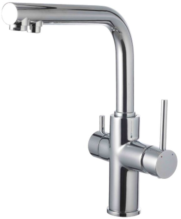 Смеситель для кухни Lemark Comfort, с подключением к фильтру с питьевой водой. LM3060CLM3060CСмеситель для кухни Lemark Comfort, с подключением к фильтру с питьевой водой.Комплектация:Аэратор для водопроводной воды Neoperl® Cascade®;Аэратор для питьевой воды Neoperl® Perlator®;Керамический картридж Sedal® 35 мм;Для крана с питьевой водой: кран-букса с керамическими пластинами (угол поворота - 90 градусов);Гибкая подводка 1/2 45 см;Переходник для подключения шланга от фильтра с питьевой водой;Металлические рукоятки.Смесители LEMARK рассчитаны на 30 лет комфортной эксплуатации.В них соединены современные технологии производства и продуманный конструктив. Установлены комплектующие от известных мировых производителей, являющихся лидерами в своих сегментах:немецкие аэраторы Neoperl - устройства, регулирующие расход воды;керамические картриджи и кран-буксы испанской фирмы Sedal.Вся продукция LEMARK устанавливается не только в частном секторе, но и с успехом эксплуатируется в офисах Hewlett-Packard, Walt Disney Studios Sony Pictures Releasing, Mail.ru Group.