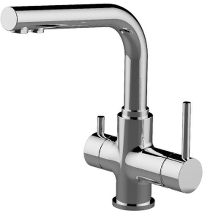 Смеситель для кухни Lemark Comfort, с подключением к фильтру с питьевой водой. LM3061C горки macyszynt toys лебедь большая с подключением воды
