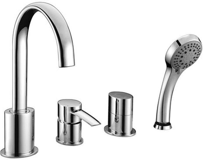 Смеситель Lemark Atlantiss, для ванныLM3241CATLANTISS LM3241C.Смеситель на борт ванны на 4 отверстия.Комплектация:• эко-картридж Sedal® 35 мм• переключатель с распределительным механизмом• блок смешивания воды• аксессуары в комплекте: шланг 2 м, свинцовый отвес, 5-функциональная лейка• гибкая подводка• металлическая рукояткаСмесители LEMARK рассчитаны на 30 лет комфортной эксплуатации.В них соединены современные технологии производства и продуманный конструктив. Установлены комплектующие от известных мировых производителей, являющихся лидерами в своих сегментах:• немецкие аэраторы Neoperl – устройства, регулирующие расход воды;• керамические картриджи и кран-буксы испанской фирмы Sedal.Вся продукция LEMARK устанавливается не только в частном секторе, но и с успехом эксплуатируется в офисах Hewlett-Packard, Walt Disney Studios Sony Pictures Releasing, Mail.ru Group, а также в новом терминале аэропорта «Толмачево» в Новосибирске.Сегодня на смесители LEMARK установлен беспрецедентный 10-летний период бесплатного сервисного обслуживания. Данное условие действует, даже если монтаж изделий производится покупателями cамостоятельно.Сервисная сеть насчитывает 90 гарантийных мастерских по России и странам СНГ.
