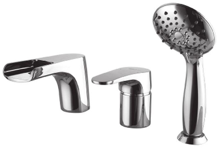 Смеситель встраиваемый Lemark Shift, для ванны. LM4345CLM4345CSHIFT LM4345C.Смеситель на борт ванны на 3 отверстия.Комплектация:• каскадный излив• эко-картридж Sedal® 40 мм• переключатель с керамическими пластинами• аксессуары в комплекте: шланг 2 м, свинцовый отвес, 3-функциональная лейка• металлическая рукояткаСмесители LEMARK рассчитаны на 30 лет комфортной эксплуатации.В них соединены современные технологии производства и продуманный конструктив. Установлены комплектующие от известных мировых производителей, являющихся лидерами в своих сегментах:• немецкие аэраторы Neoperl – устройства, регулирующие расход воды;• керамические картриджи и кран-буксы испанской фирмы Sedal.Вся продукция LEMARK устанавливается не только в частном секторе, но и с успехом эксплуатируется в офисах Hewlett-Packard, Walt Disney Studios Sony Pictures Releasing, Mail.ru Group, а также в новом терминале аэропорта «Толмачево» в Новосибирске.Сегодня на смесители LEMARK установлен беспрецедентный 10-летний период бесплатного сервисного обслуживания. Данное условие действует, даже если монтаж изделий производится покупателями cамостоятельно.Сервисная сеть насчитывает 90 гарантийных мастерских по России и странам СНГ.
