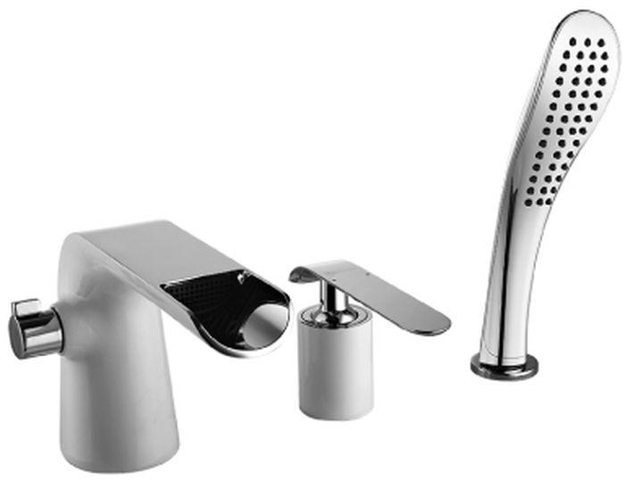 Смеситель встраиваемый Lemark Melange, на борт ванныLM4945CWMELANGE LM4945CW.Смеситель для ванны на 3 отверстия.Комплектация:• каскадный излив• керамический картридж Sedal® 35 мм• переключатель с керамическими пластинами• аксессуары в комплекте: шланг 2 м, свинцовый отвес, 1-функциональная лейка• металлическая рукояткаСмесители LEMARK рассчитаны на 30 лет комфортной эксплуатации.В них соединены современные технологии производства и продуманный конструктив. Установлены комплектующие от известных мировых производителей, являющихся лидерами в своих сегментах:• немецкие аэраторы Neoperl – устройства, регулирующие расход воды;• керамические картриджи и кран-буксы испанской фирмы Sedal.Вся продукция LEMARK устанавливается не только в частном секторе, но и с успехом эксплуатируется в офисах Hewlett-Packard, Walt Disney Studios Sony Pictures Releasing, Mail.ru Group, а также в новом терминале аэропорта «Толмачево» в Новосибирске.Сегодня на смесители LEMARK установлен беспрецедентный 10-летний период бесплатного сервисного обслуживания. Данное условие действует, даже если монтаж изделий производится покупателями cамостоятельно.Сервисная сеть насчитывает 90 гарантийных мастерских по России и странам СНГ.