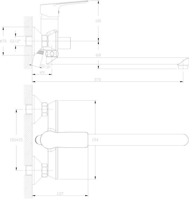 """Универсальный смеситель с плоским поворотным изливом """"Rossinka"""" изготовлен высококачественного металла. Комплектация:Пластиковый аэратор с функцией легкой очистки; Керамический картридж 35 мм; Переключатель с керамическими пластинами; Аксессуары: (шланг 1,5 м, настенное крепление, 1-функциональная лейка с функцией легкой очистки); Присоединительная группа (эксцентрики с отражателями) для вертикального крепления; Металлическая рукоятка. Смесители Rossinka были разработаны российским институтом """"НИИ Сантехники"""", что позволило произвести продукт, максимально подходящий под условия эксплуатации в нашей стране (жесткая вода, частые перепады температуры и напора воды).""""НИИ Сантехники"""" рекомендует установку смесителей Rossinka в жилых помещениях, в детских, лечебно-профилактических, дошкольных и школьных учреждениях.Наличие международного сертификата ISO 9001 гарантирует стабильность качества выпускаемой продукции.Сервисная сеть насчитывает 90 гарантийных мастерских по России и странам СНГ.   Плановый срок службы смесителей 30 лет.Гарантия на корпус смесителя при условии использования в бытовых условиях: 7 лет."""