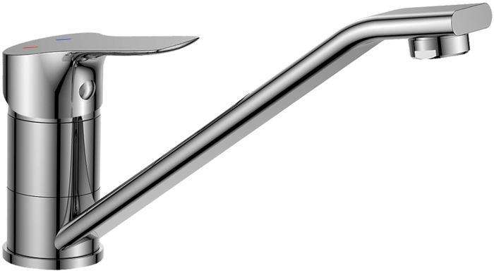 Смеситель для кухни Rossinka, с поворотным изливом. RS29-21RS29-21Смеситель для кухни, выполненный из высококачественной латуни с покрытием из хрома, устанавливается на мойку. Комплектация: пластиковый аэратор с функцией легкой очистки; керамический картридж 35 мм; гибкая подводка 35 см - 2 шт.; присоединительная группа для горизонтального крепления; металлическая рукоятка.Гарантия на корпус смесителя при условии использования в бытовых условиях 7 лет.