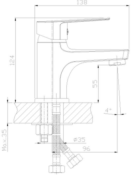 """Монолитный одноручный смеситель для умывальника и биде  """"Rossinka"""" изготовлен методом литья из высококачественной  латуни с пониженным содержанием свинца. В качестве  рабочего элемента используется картридж с керамическими  пластинами диаметром 35 мм.  Смеситель снабжен аэратором, который обеспечивает  низкий уровень шума и делает струю воды равномерной и  приятной на ощупь. Во всех моделях смесителей Rossinka  Silvermix установлены аэраторы с пластиковой сеткой, которая  защищает от известковых отложений.  Аксессуары в комплекте (шланг 1,5 м, лейка для биде с  нажимным механизмом, настенное крепление для лейки).   Шланг имеет повышенную прочность благодаря оплетке с  двойным вальцеванием из нержавеющей стали, которая  обеспечивает высокую сопротивляемость шланга на разрыв и  излом. Трубка EPDM выполнена из нетоксичной резины,  соответствующей ГОСТ 5496.  Лейка для биде изготовлена из пластмассы с  высококачественным хром-никелевым покрытием,  устойчивым к повреждениям (кроме механических  повреждений), а материалы форсунок позволяют легко  избавиться от известкового налета.  Гибкая подводка снабжена латунными накидными гайками (d  = 1/2""""), что обеспечивает ее прочное подсоединение к  водопроводной системе.  Смесители Rossinka Silvermix адаптированы к низкому  качеству российской водопроводной воды и максимально  подходят под условия эксплуатации в нашей стране (жесткая  вода, частые перепады температуры и напора воды).  Пластиковый аэратор с функцией """"Анти-Кальций"""" и душевая  лейка с функцией """"самоочищения"""" от известкового налета  препятствуют быстрому загрязнению и """"выходу из строя""""  смесителя и аксессуаров.  Длина шланга: 150 см.  Длина гибкой подводки: 40 см.  Керамический картридж: 35 мм.  Гарантия на корпус смесителя при условии использования в  бытовых условиях 7 лет."""