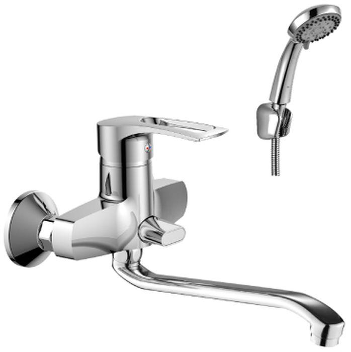 Смеситель Rossinka, для ванны, с S-образным изливом. T40-34T40-34T40-34. Смеситель универсальный с S-образным поворотным изливом 350 мм.Комплектация:• пластиковый аэратор с функцией легкой очистки• керамический картридж 40 мм• переключатель с керамическими пластинами• аксессуары в комплекте (шланг 1,5 м, настенное крепление, 5-функциональная лейка с функцией легкой очистки)• присоединительная группа (эксцентрики с отражателями) для вертикального крепления• металлическая рукояткаСмесители Rossinka были разработаны российским институтом «НИИ Сантехники», что позволило произвести продукт, максимально подходящий под условия эксплуатации в нашей стране (жесткая вода, частые перепады температуры и напора воды).«НИИ Сантехники» рекомендует установку смесителей Rossinka в жилых помещениях, в детских, лечебно-профилактических, дошкольных и школьных учреждениях.Наличие международного сертификата ISO 9001 гарантирует стабильность качества выпускаемой продукции.Сервисная сеть насчитывает 90 гарантийных мастерских по России и странам СНГ.Плановый срок службы смесителей 30 лет.Гарантия на смесители 7 лет.