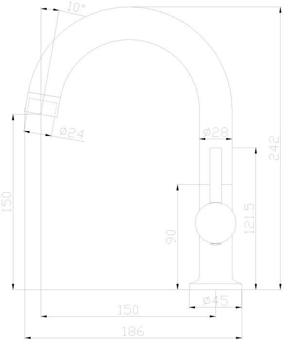 X25-24U. Смеситель для кухни/умывальника с поворотным изливом.Комплектация:• пластиковый аэратор с функцией легкой очистки• керамический картридж 25 мм• гибкая подводка 35 см – 2 шт.• присоединительная группа для горизонтального крепления• металлическая рукояткаСмесители Rossinka были разработаны российским институтом «НИИ Сантехники», что позволило произвести продукт, максимально подходящий под условия эксплуатации в нашей стране (жесткая вода, частые перепады температуры и напора воды).«НИИ Сантехники» рекомендует установку смесителей Rossinka в жилых помещениях, в детских, лечебно-профилактических, дошкольных и школьных учреждениях.Наличие международного сертификата ISO 9001 гарантирует стабильность качества выпускаемой продукции.Сервисная сеть насчитывает 90 гарантийных мастерских по России и странам СНГ.Плановый срок службы смесителей 30 лет.Гарантия на смесители 7 лет.
