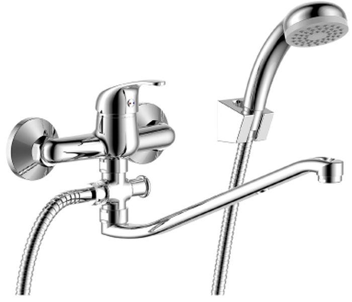 Смеситель Rossinka, для ванны, с S-образным изливом. Y35-35Y35-35Y35-35. Смеситель универсальный с S-образным поворотным изливом 300 мм.Комплектация:• пластиковый аэратор с функцией легкой очистки• керамический картридж 35 мм• кнопочный переключатель• аксессуары в комплекте (шланг 1,5 м, настенное крепление, 1-функциональная лейка с функцией легкой очистки)• присоединительная группа (эксцентрики с отражателями) для вертикального крепления• металлическая рукояткаСмесители Rossinka были разработаны российским институтом «НИИ Сантехники», что позволило произвести продукт, максимально подходящий под условия эксплуатации в нашей стране (жесткая вода, частые перепады температуры и напора воды).«НИИ Сантехники» рекомендует установку смесителей Rossinka в жилых помещениях, в детских, лечебно-профилактических, дошкольных и школьных учреждениях.Наличие международного сертификата ISO 9001 гарантирует стабильность качества выпускаемой продукции.Сервисная сеть насчитывает 90 гарантийных мастерских по России и странам СНГ.Плановый срок службы смесителей 30 лет.Гарантия на смесители 7 лет.