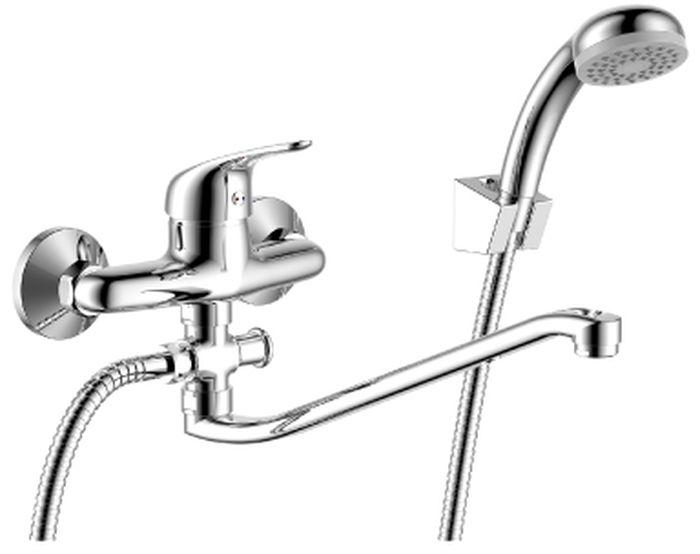 Смеситель Rossinka, для ванны, с S-образным изливом. Y40-35Y40-35Y40-35. Смеситель универсальный с S-образным поворотным изливом 300 мм.Комплектация:• пластиковый аэратор с функцией легкой очистки• керамический картридж 40 мм• кнопочный переключатель• аксессуары в комплекте (шланг 1,5 м, настенное крепление, 1-функциональная лейка с функцией легкой очистки)• присоединительная группа (эксцентрики с отражателями) для вертикального крепления• металлическая рукояткаСмесители Rossinka были разработаны российским институтом «НИИ Сантехники», что позволило произвести продукт, максимально подходящий под условия эксплуатации в нашей стране (жесткая вода, частые перепады температуры и напора воды).«НИИ Сантехники» рекомендует установку смесителей Rossinka в жилых помещениях, в детских, лечебно-профилактических, дошкольных и школьных учреждениях.Наличие международного сертификата ISO 9001 гарантирует стабильность качества выпускаемой продукции.Сервисная сеть насчитывает 90 гарантийных мастерских по России и странам СНГ.Плановый срок службы смесителей 30 лет.Гарантия на смесители 7 лет.
