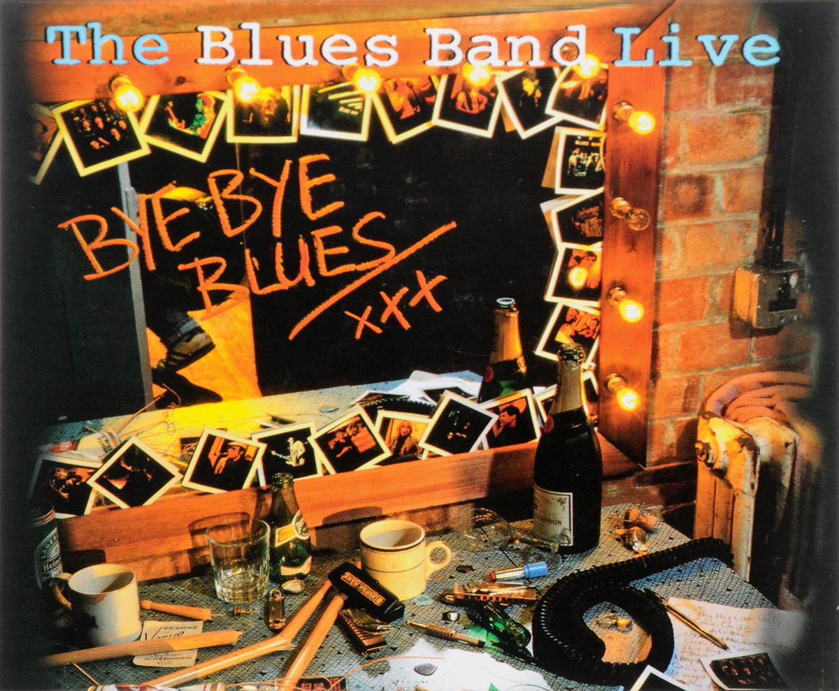 Blues Band,Алексис Корнер,Марк Фелтем The Blues Band Live. Bye Bye Blues (2 CD) гэри мур the midnight blues band gary moore