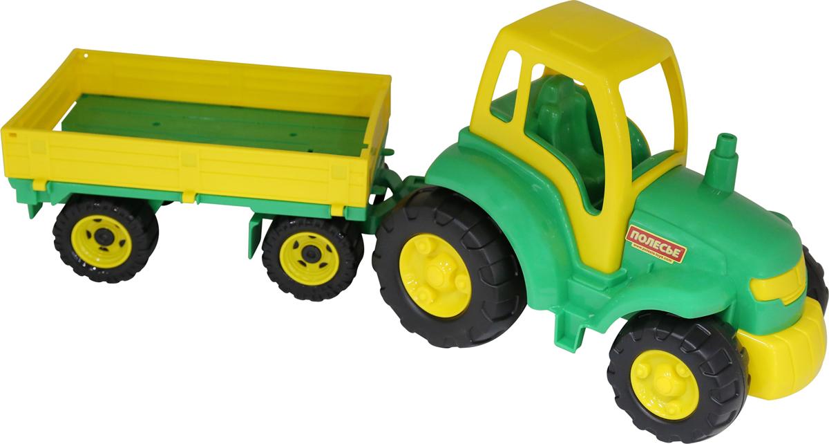 Полесье Трактор Чемпион с прицепом полесье конструктор автомобиль легковой с прицепом