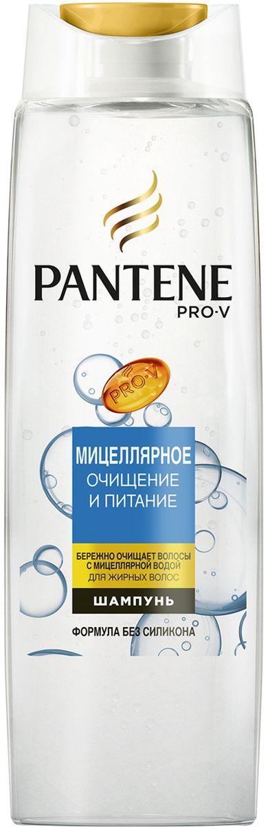 Pantene Pro-V Шампунь Мицеллярное очищение и питание, 250 мл8001090481078Усовершенствованная формула с питательными веществами Pro-V.