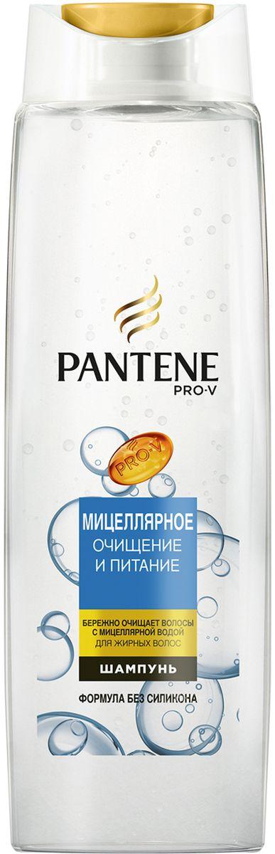 Pantene Pro-V Шампунь Мицеллярное очищение и питание, 400 мл8001090481108Усовершенствованная формула с питательными веществами Pro-V.