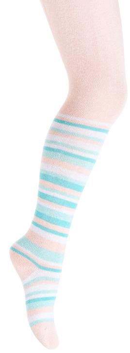 Колготки для девочки PlayToday, цвет: светло-розовый, голубой. 378085. Размер 11 колготки для девочки playtoday цвет розовый белый 178039 размер 12