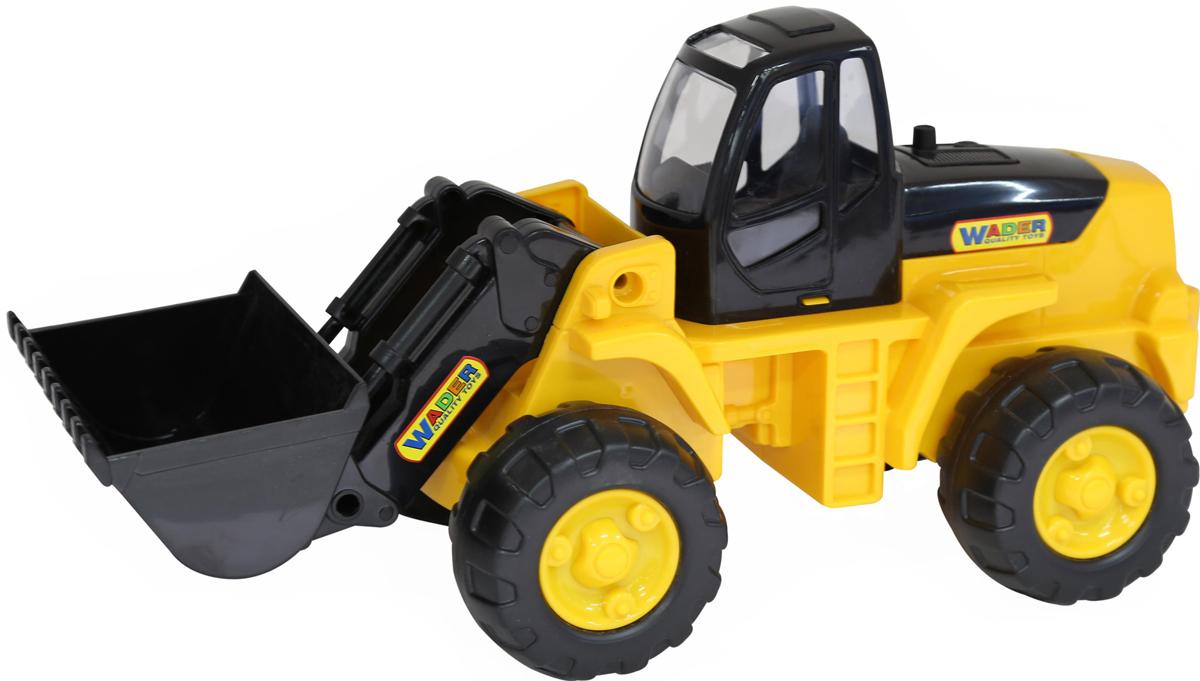 Полесье Трактор-погрузчик 9661 машина детская полесье полесье набор автомобиль трейлер трактор погрузчик