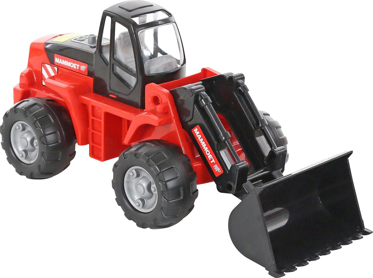 Полесье Трактор-погрузчик Mammoet 207-01 машина детская полесье полесье набор автомобиль трейлер трактор погрузчик