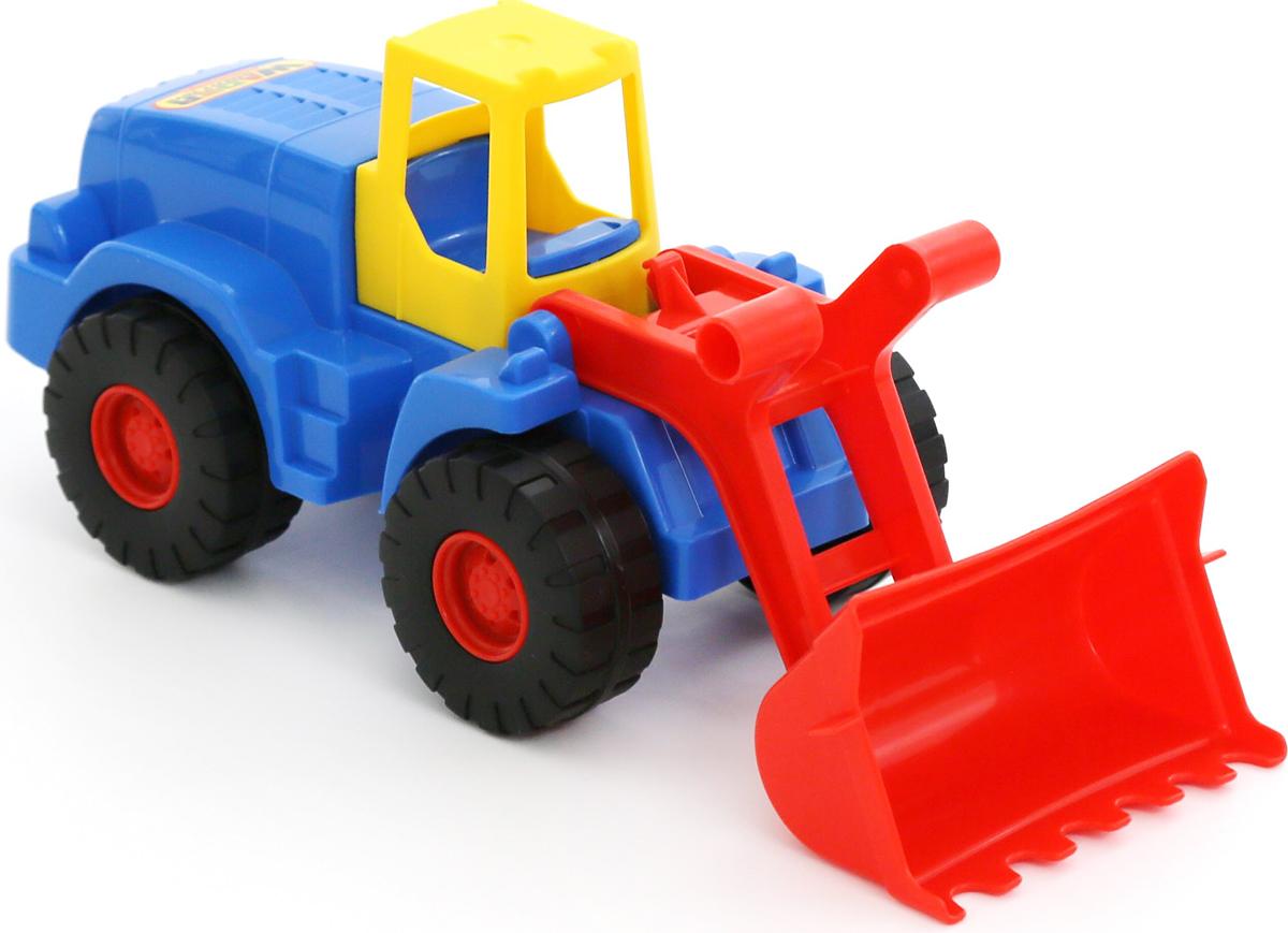 Полесье Трактор-погрузчик Агат машина детская полесье полесье набор автомобиль трейлер трактор погрузчик