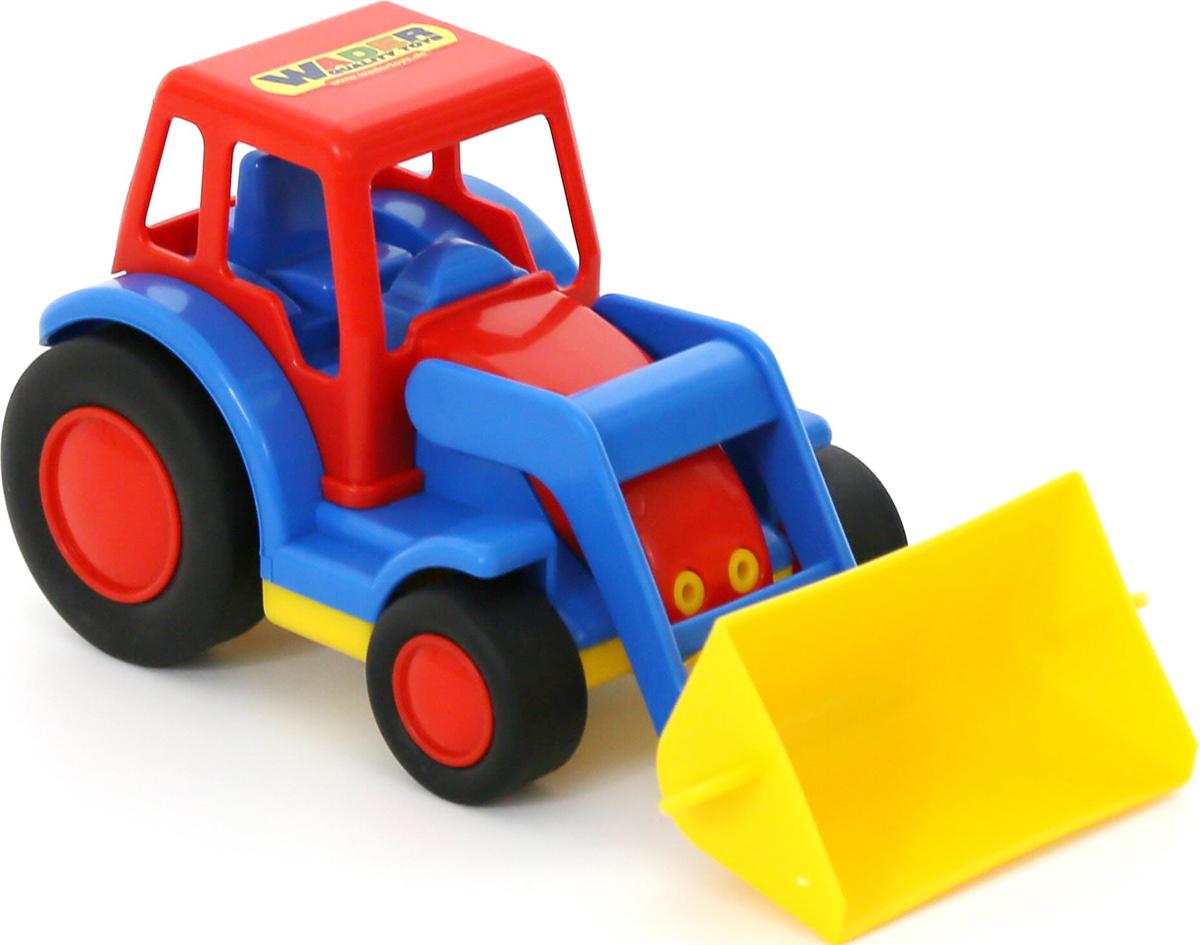 Полесье Трактор-погрузчик Базик машина детская полесье полесье набор автомобиль трейлер трактор погрузчик