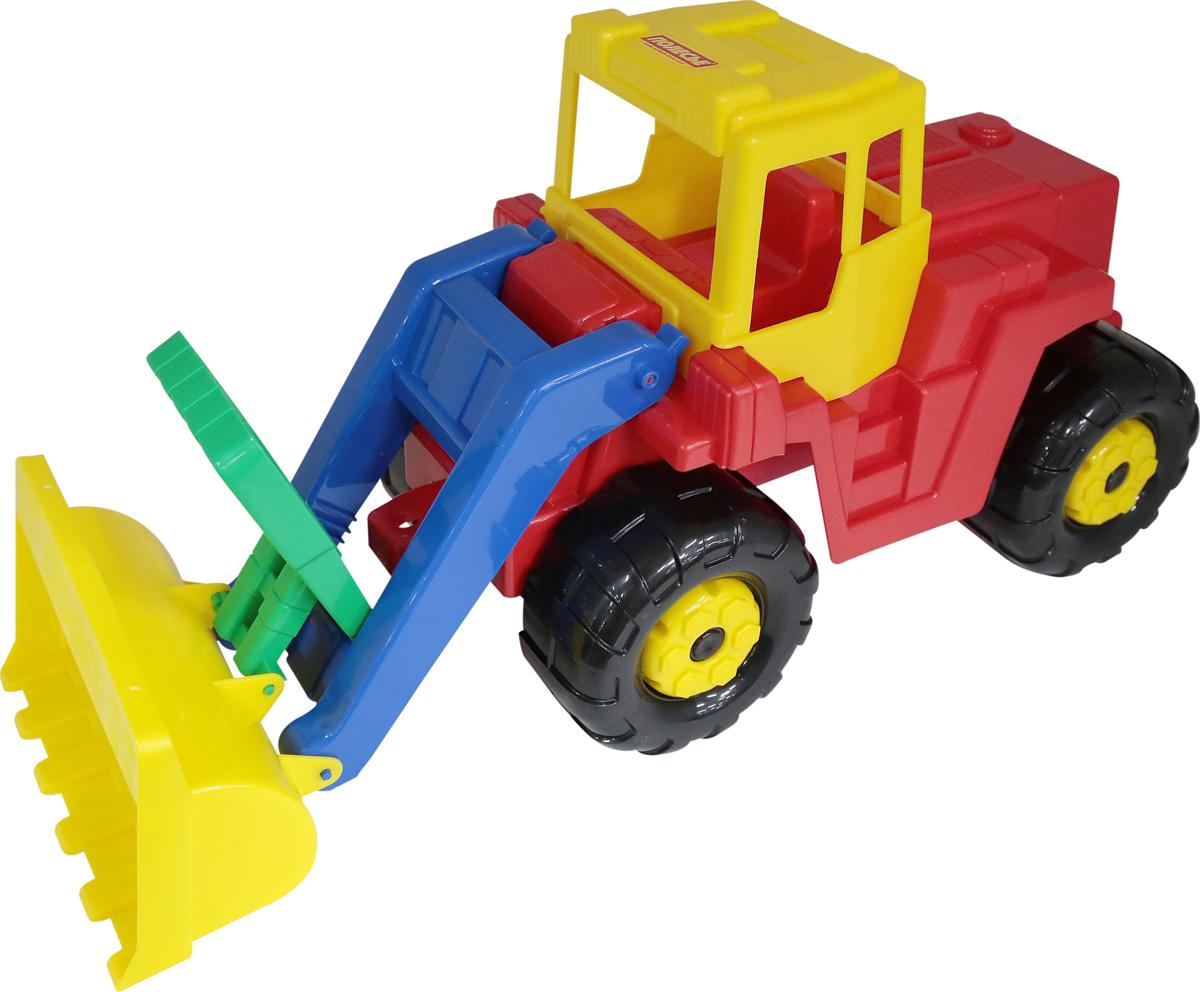 Полесье Трактор-погрузчик Батыр машина детская полесье полесье набор автомобиль трейлер трактор погрузчик