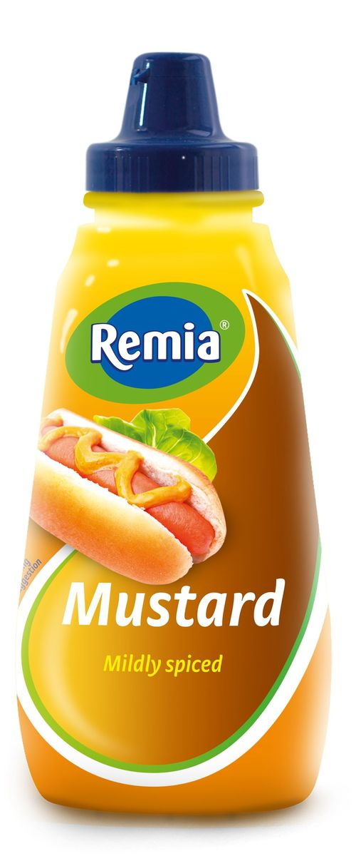 Remia Mustard горчица, 0,35 л remia partysauc whisky cocktail соус коктейль 300 мл
