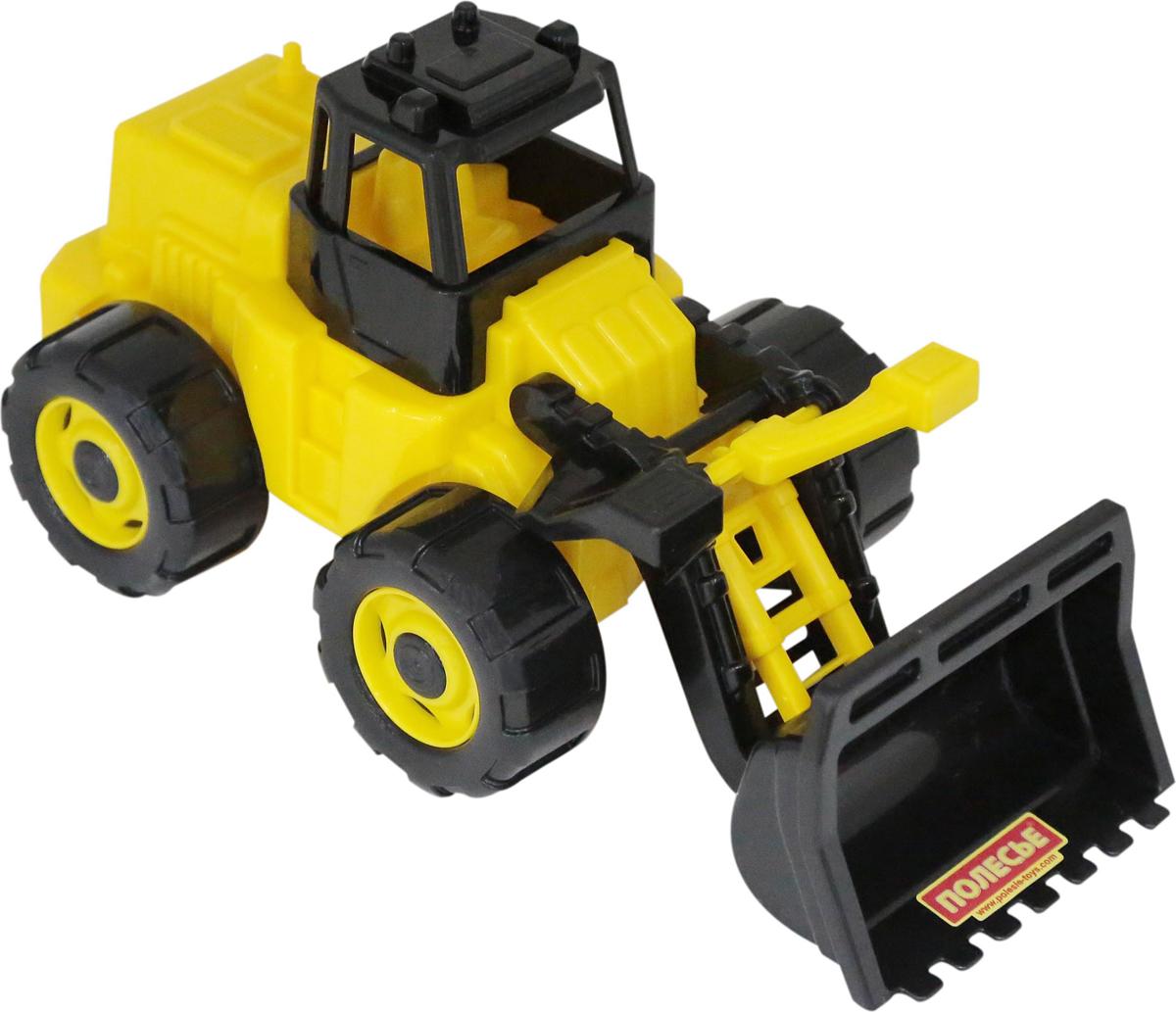 Полесье Трактор-погрузчик Геракл машина детская полесье полесье набор автомобиль трейлер трактор погрузчик