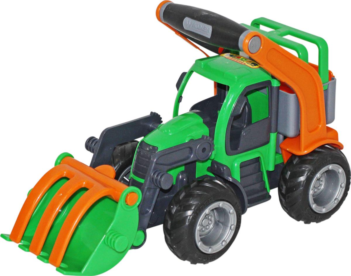 Полесье Трактор-погрузчик ГрипТрак 48387 машина детская полесье полесье набор автомобиль трейлер трактор погрузчик