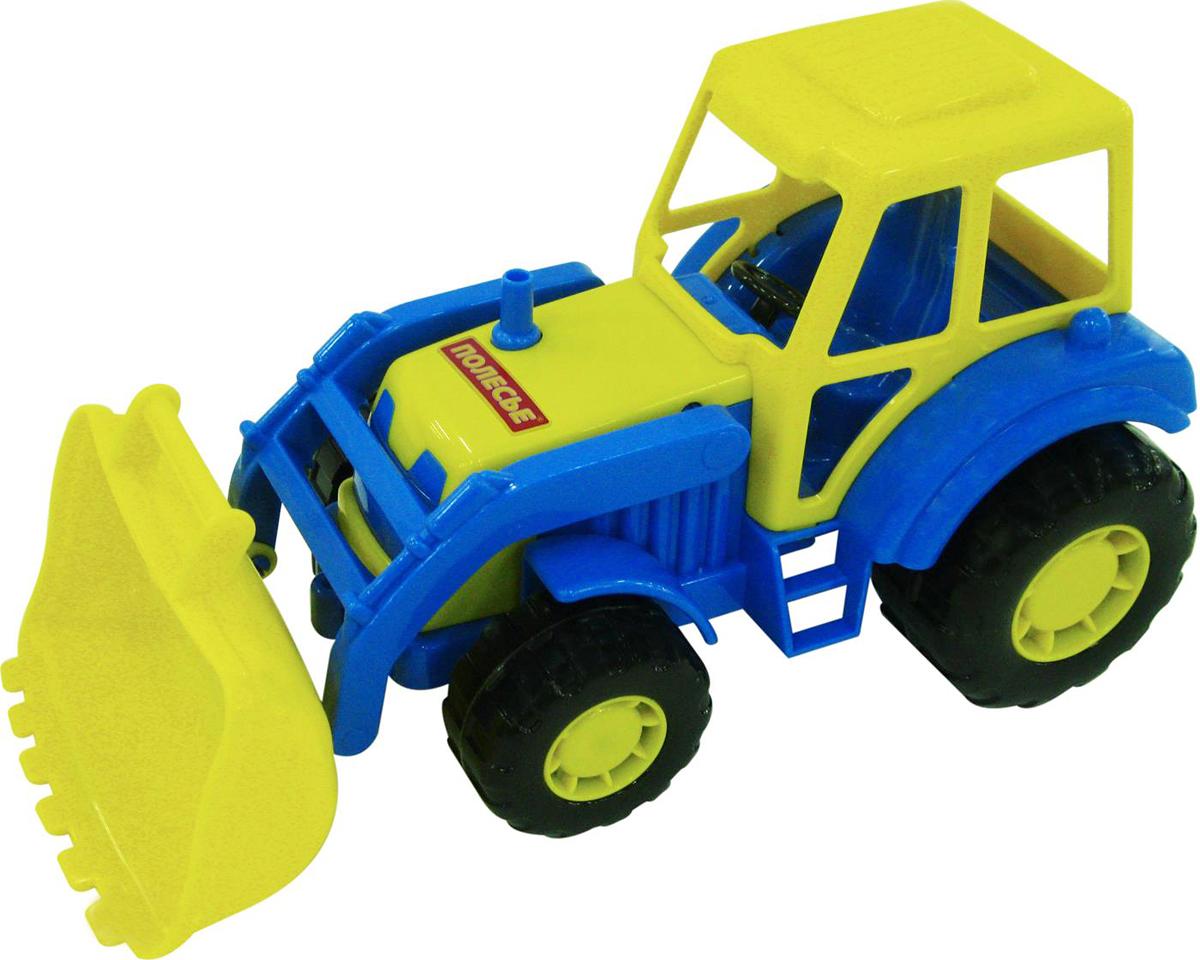 Полесье Трактор-погрузчик Мастер машина детская полесье полесье набор автомобиль трейлер трактор погрузчик