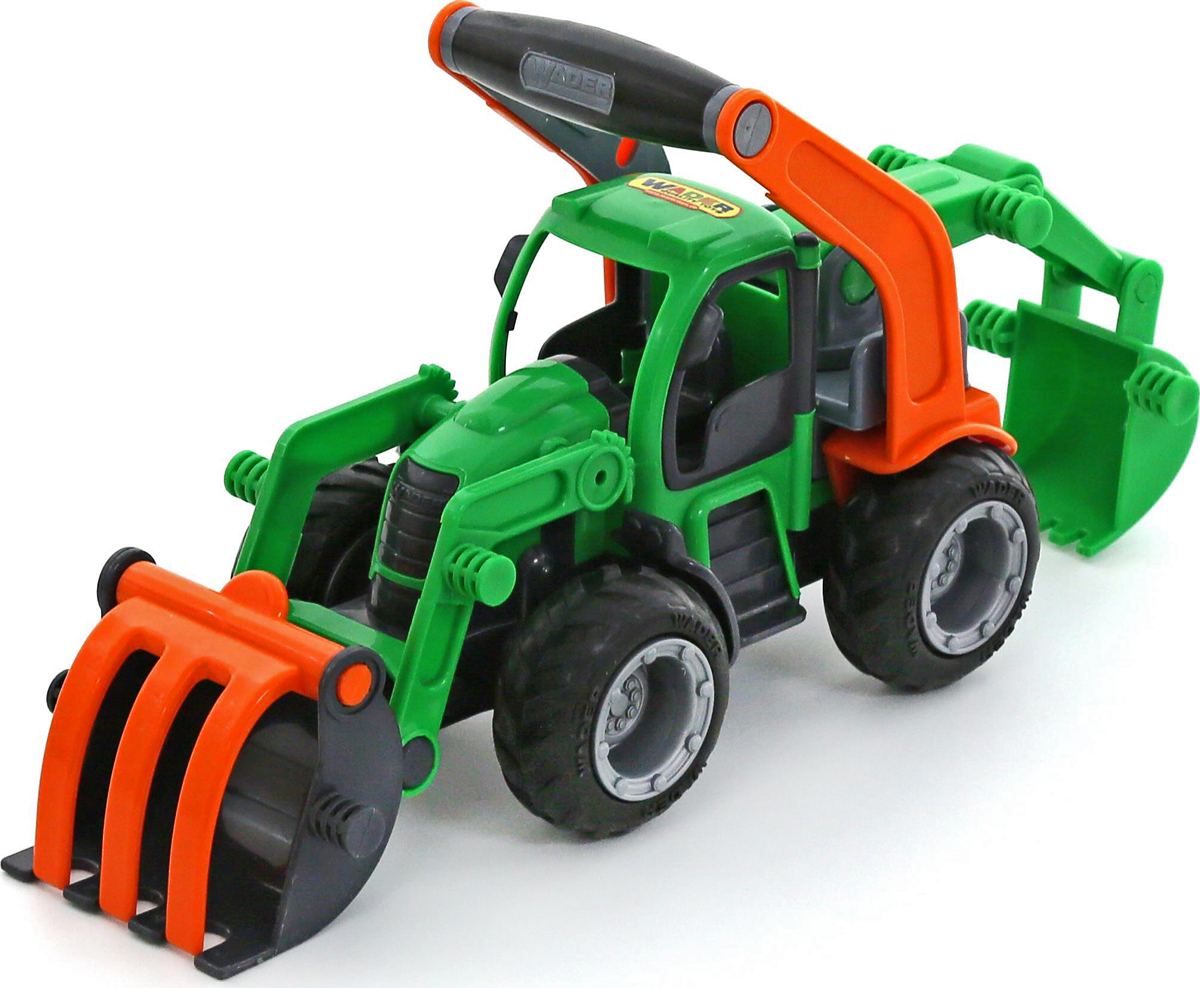 Полесье Трактор-погрузчик  ковшом ГрипТрак 48394